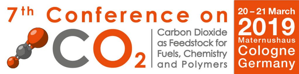 7th Conference on Carbon Dioxide as Feedstock for Fuels, Chemistry and Polymers @ Maternushaus | Cologne | North Rhine-Westphalia | Germany