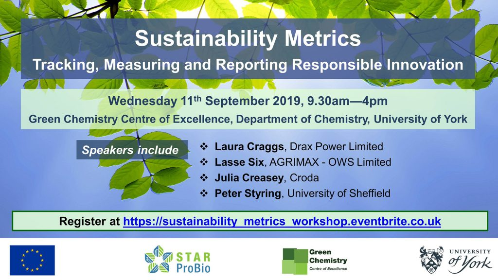 Sustainability Metrics - Tracking, Measuring and Reporting Responsible Innovation