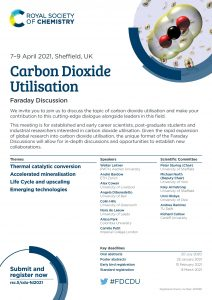Carbon Dioxide Utilisation - Faraday Discussion @ Sheffield University
